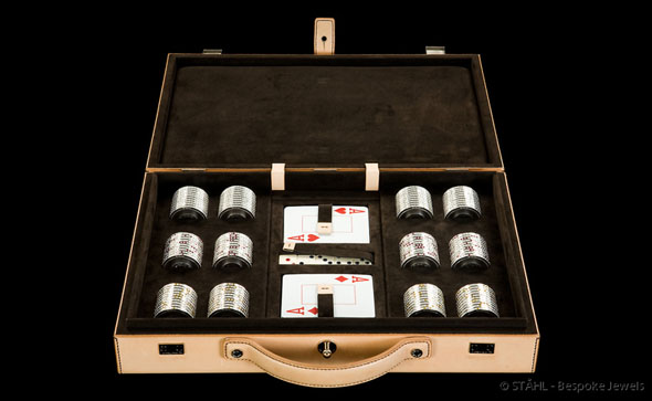 as such some designers have made it their mission to build some of the most expensive poker sets ever game - Poker Sets