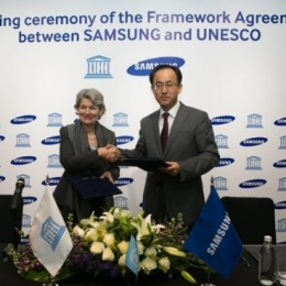 Samsung and-Unesco