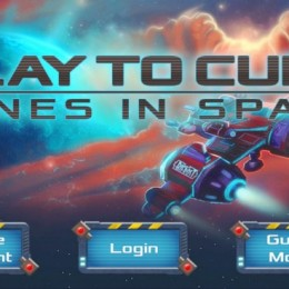 Play to Cure Genes in Space