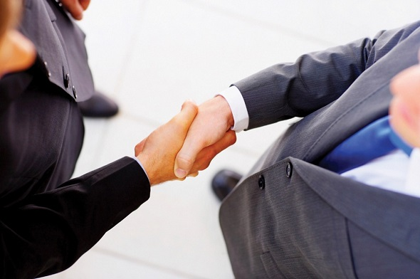 Thats a firm handshake