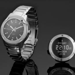 Halda's Futuristic watches