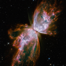 Butterfly nebula's death