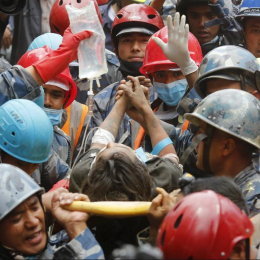 Stories of Incredible Survival during the Recent Nepal Earthquake