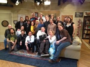 Big Bang Theory nd Stephen Hawking