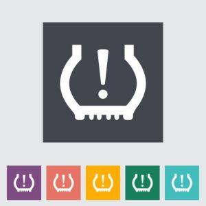 Tire pressure symbol