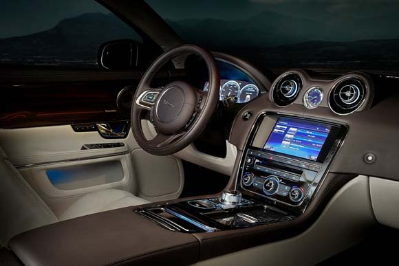 jaguar car interior designer