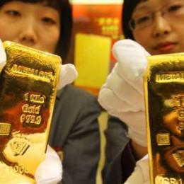 China and gold
