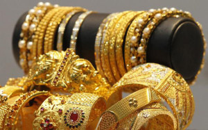 Gold jewells
