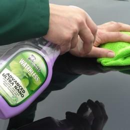 Green waterless carwash
