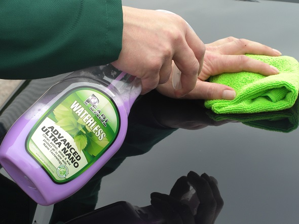 Green waterless carwash