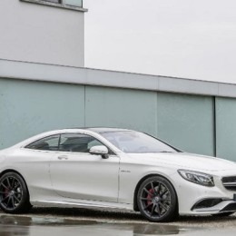 Mercedes S63 AMG Coupe side