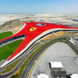 Ferrari red all over