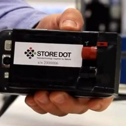 StoreDot Ultra fast charger