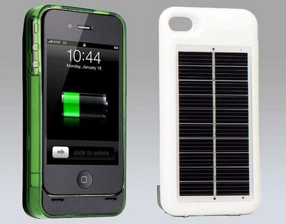Solar smartphones