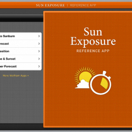Wolfram Sun Exposure Reference