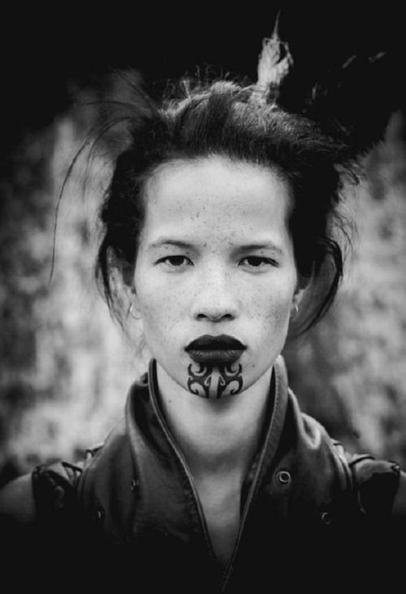 4b9222dd834ac How to design a Ta Moko, the Maori tattoo | Cool Buzz