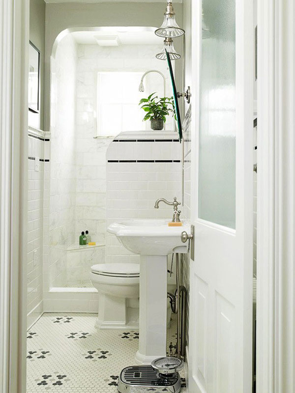 Small Space Problem? 3 Big Ideas for a Small Bathroom ... on Space Bathroom  id=81293