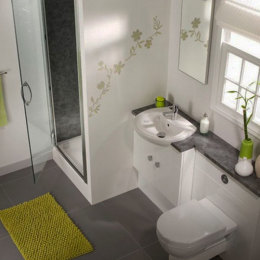 Small space problem? 3 big ideas for a small bathroom