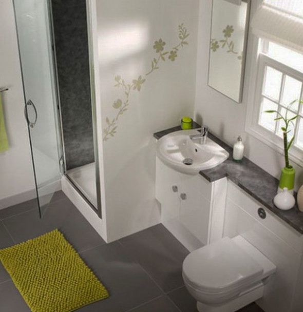 Genial Choose Décor That Adds Height And Depth. For Bathrooms With Low ...