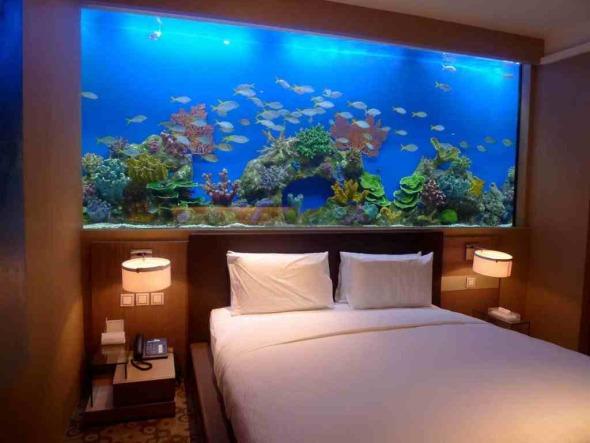 Aquarium-Bed