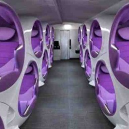 Want More Comfort in Your Flight? How About Double Decker Sleep Pods?