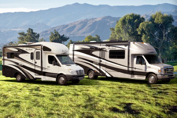 Motorhome-RV-Class-C-Sprinter-Ford-Chassis