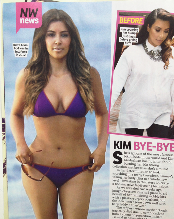 Celebrity-Post-Baby-Body-Kim-Kardashian-2