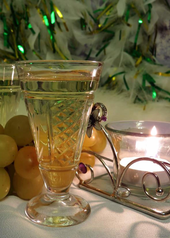 Celebratory glass