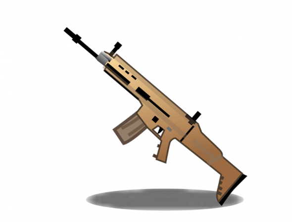 rifle emoji