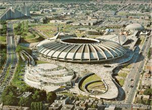 Montreal Olympic Park, Canada, 1976