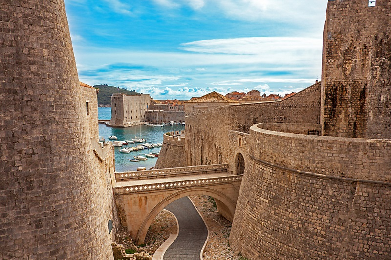 Old,Town,And,Harbor,Of,Dubrovnik,Croatia